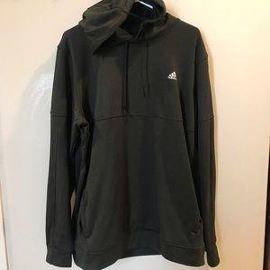 Men's Adidas Climawarm Hoodie Sweatshirt XL Black